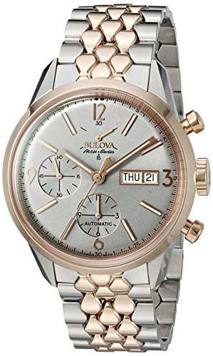 Bulova-Mens-Stainless-Steel-Automatic-Watch-Model-65C114