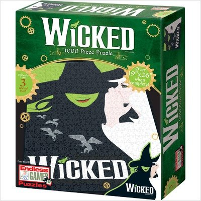 Cheap Endless Games Wicked Key Art 1000 Piece Puzzle (B001GWHWY8)