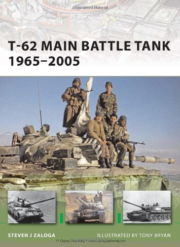 T-62 Main Battle Tank 1965-2005 (New Vanguard)