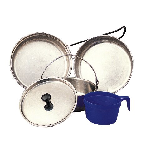 Stainless Steel 5 Piece Mess Kit