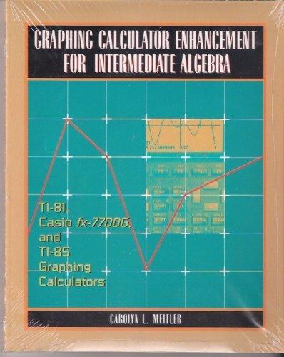 Calculator Enhancement for Intermediate Algebra PDF