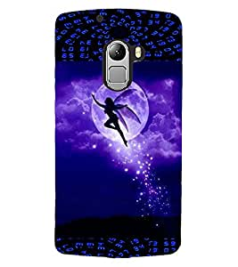 ColourCraft Beautiful Angel Design Back Case Cover for LENOVO A7010