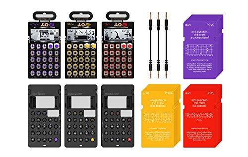 Teenage Engineering PO 20-series Super Set Bundle (PO-20, PO-24 & PO-28) (Teenage Engineering Case compare prices)