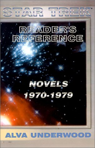 Star Trek Reader's Reference: Novels 1970-1979