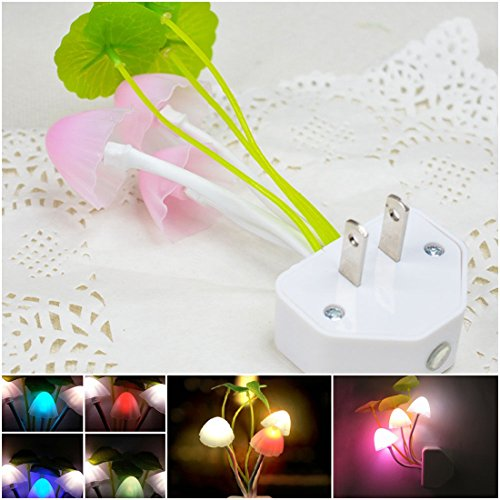 1Pc First Impression Night Light LED Lamp Home Decor Romantic Gift Multi-Colors Changing with US Plug (Light Film Shark Tank compare prices)
