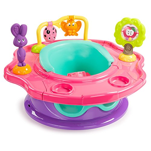 Find Discount Summer 3-Stage Infant Super Seat Positioner Booster and Activity Seat, Girl Forest