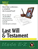 Last Will & Testament (Made E-Z Guides) (1563824736) by Made E-Z