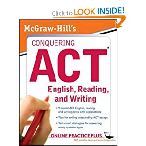 McGraw-Hill's Conquering ACT English, Reading, and Writing  by Steven Dulan