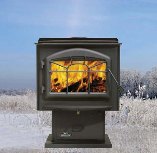 Napoleon 1400P Napoleon 1400P Medium Wood Stove - Four Finishes Available