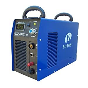 LOTOS LTP7000 IGBT 70 Amps Pilot Arc Plasma Cutter with CNC Cutting Feature (Thanksgiving Special)