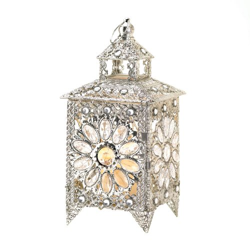Crown Jeweled Candle Lantern Furniture Creations B00BE626W4
