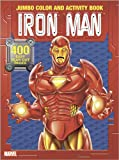 Iron Man Jumbo Color and Activity Book (0696226561) by Marvel