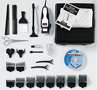 Cheapest Wahl 79524 24-Piece Deluxe Hair Clipper Kit by Wahl - Free Shipping Available