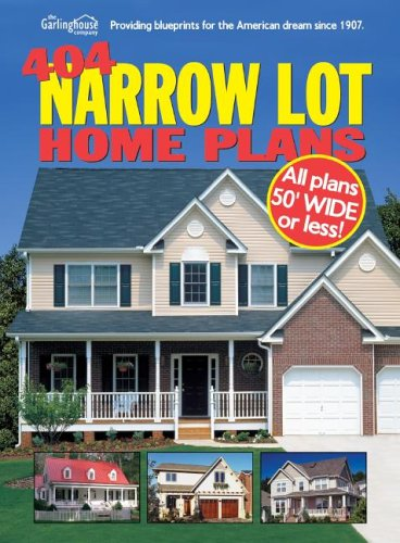 404 Narrow Lot Home Plans (Narrow House Plans compare prices)