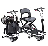 Pride Mobility Go Go Folding Travel Compact Scooter Lithum Powered Battery
