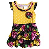 Young Hearts Baby Girls' 2 Piece Knit Dress and Panty Set