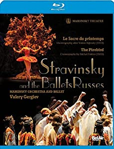 Stravinsky and the Ballets Russes: The Firebird and The Rite of Spring [Blu-ray] [2009][Region Free] by Bel Air