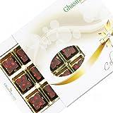 Ghasitaram Gifts Sugarfree Designer Chocolate 12 Pcs White Box-200gms