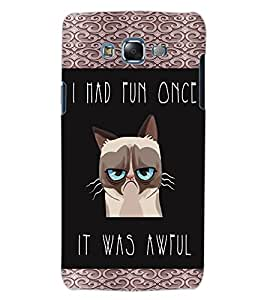 ColourCraft Funny Quote Image Design Back Case Cover for SAMSUNG GALAXY J5