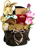 Gift Basket Village a Sweet Surprise for Easter! Boy with Chocolate Scented Bunny, 7 Pound