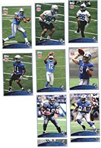 2009 Topps Detroit Lions Complete Team Set (13 Cards) by Topps