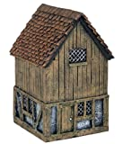 1/72 House with Hay Loft Diorama
