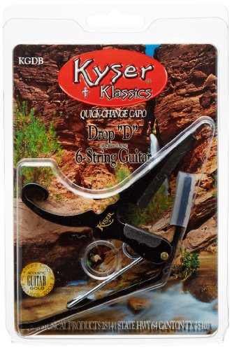 Kyser Drop-D Capo, Black