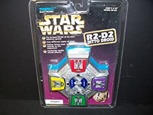 Star Wars R2-d2 Ditto Droid Memory Game by TIGER Electronics