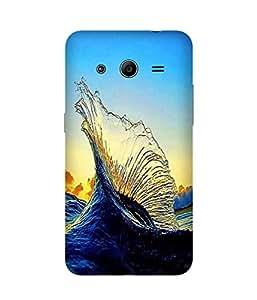 Water Splash Samsung Galaxy Core 2 Case