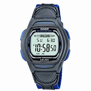 Casio Collection Kinder-Armbanduhr Digital Quarz LW-201B-2AVEF