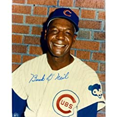 Buy Signed Buck O'Neil Photo - 8x10 - Autographed MLB Photos by Sports Memorabilia