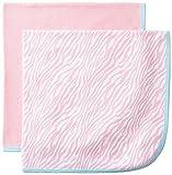 Gerber Baby-Girls Newborn 2 Pack Thermal Blanket