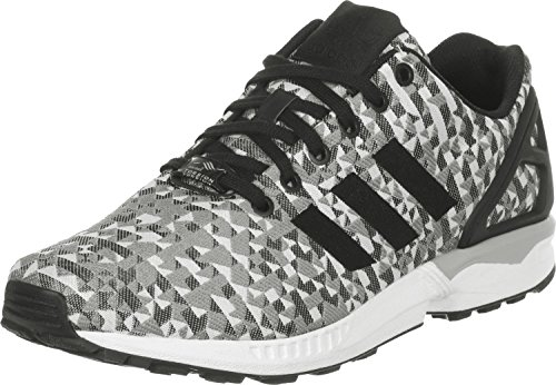 adidas - ZX Flux Weave, Senakers a collo basso, unisex, bianco (weiß), 36