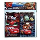 2pk Disney Cars 2 Memo 3x5 Pad in Poly Bag W/Header