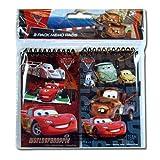 2pk Disney Cars 2 Memo 3x5 Pad in Poly Bag W/Header