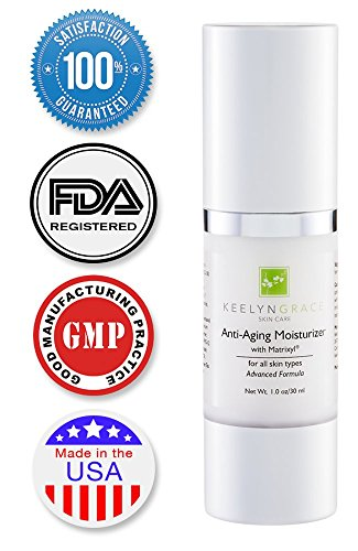 Anti Aging Anti Wrinkle Cream - Moisturizer with Matrixyl 3000 - Best Day & Night Face Moisturizing Skin Care Serum for Men & Women with Advanced Peptides, Vitamin C, E, Hyaluronic Acid - 100% Satisfaction Guarantee.