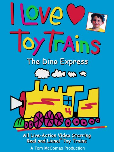 I Love Toy Trains - The Dino Express