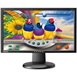ViewSonic VG2428WM 24-Inch Ergonomic Widescreen Monitor with 1920×1080 Resolution – Black