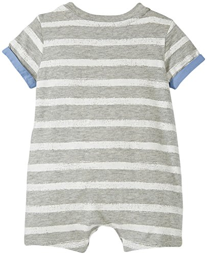 Splendid Double Knit Romper, Grey Heather, 0-3M