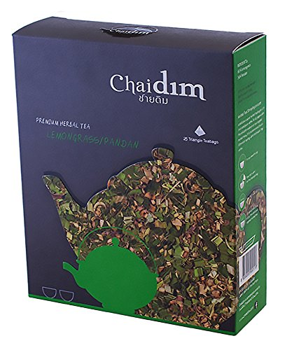 Chaidim Premium Organic Herbal tea 25 teabags (Lemongrass/Pandan) (Dragon Ball Energy Drink compare prices)