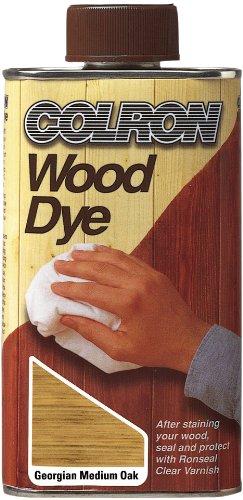 Ronseal CWDGMO500 500ml Medium Colron Wood Dye - Georgian Oak