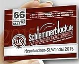 Schlemmerblock Neunkirchen-St. Wendel 2015 ~ ab Kauf bis 1.12.2015 gültig