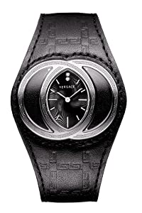 Gianni Versace Eclissi 84Q Black Dial Ladies Watch