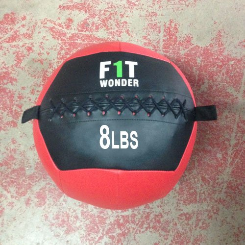 8 Lb Medicine Ball Wall Ball Weight Ball Crossfit Training Exercise For Fitness - Onefitwonder