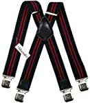 Mens Suspenders Wide Adjustable and E...