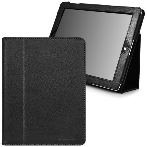 CaseCrown Bold Standby Case (Black) for iPad 2 (Built-in magnet for Apple Smart Cover's sleep & awake)