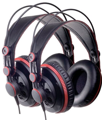 Superlux HD 681 Pair Two Pro Dynamic Semi-Open