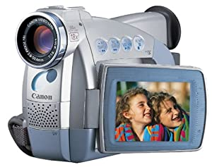 "Canon ZR45MC MiniDV Digital Camcorder with 2.5"" LCD, Digital Still Mode & MMC Card Slot"