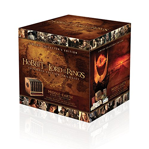 Middle Earth Collection Extended Edition - Collector's Edition  (30 Blu-Ray)