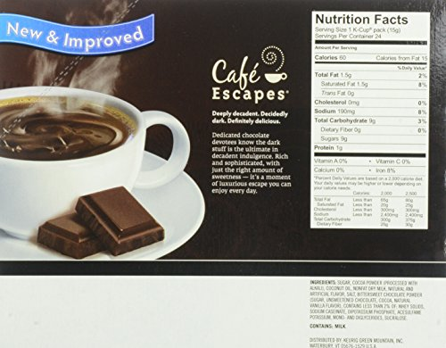 Cafe Escapes Dark Chocolate Hot Cocoa Reviews